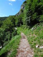From Cainallo to Bietti refuge: quite easy to walk